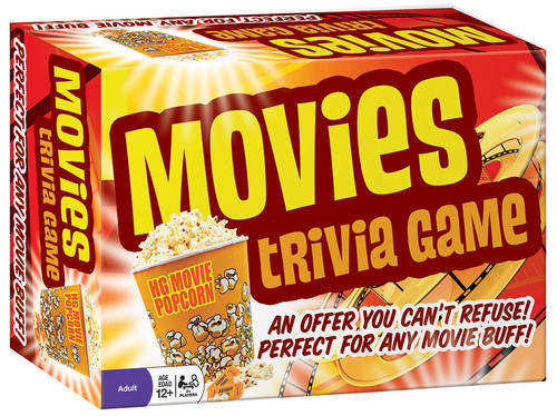Image of Movies Trivia Game packaging