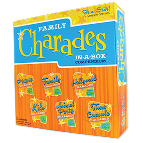Image of Family Charades In-A-Box Compendium packaging