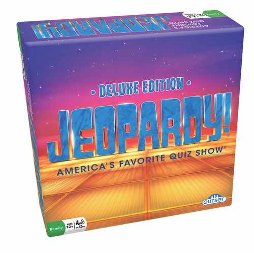 Image of Jeopardy! Deluxe Edition packaging