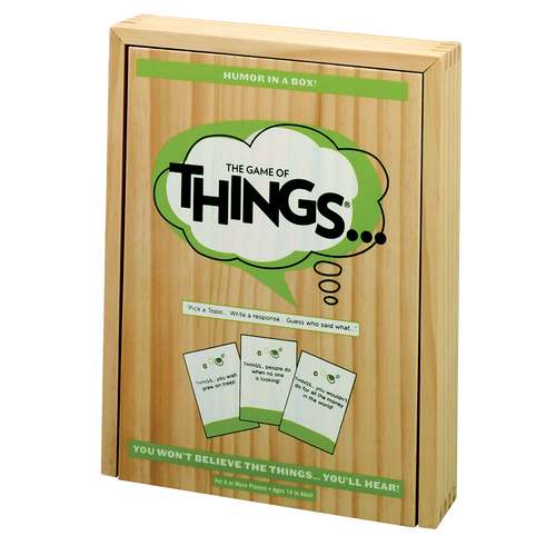 Game of Things wood box
