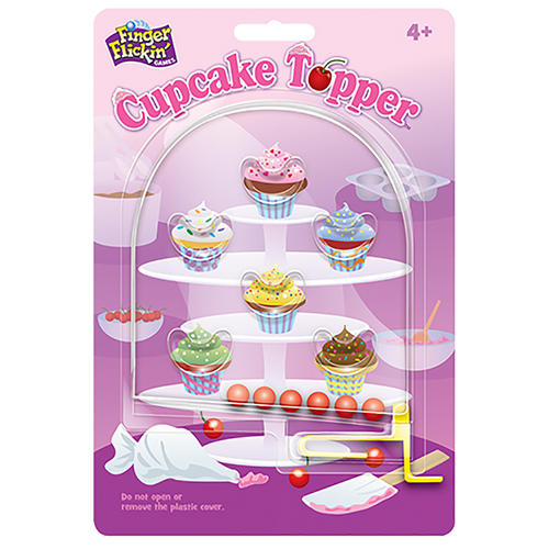 Cupcake Topper Finger Flickin' impulse