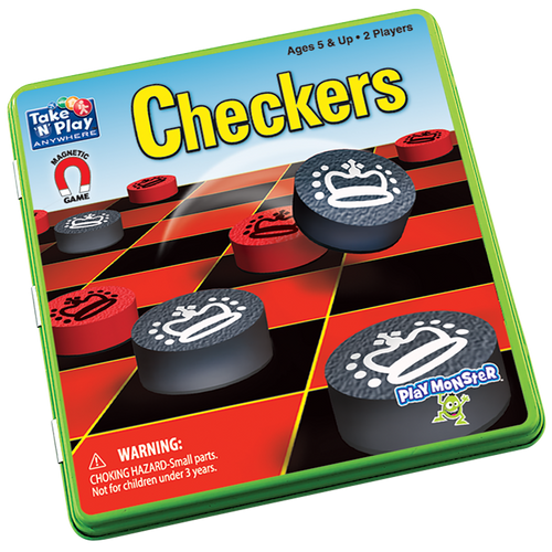 Checkers Take-n-Play magnetic