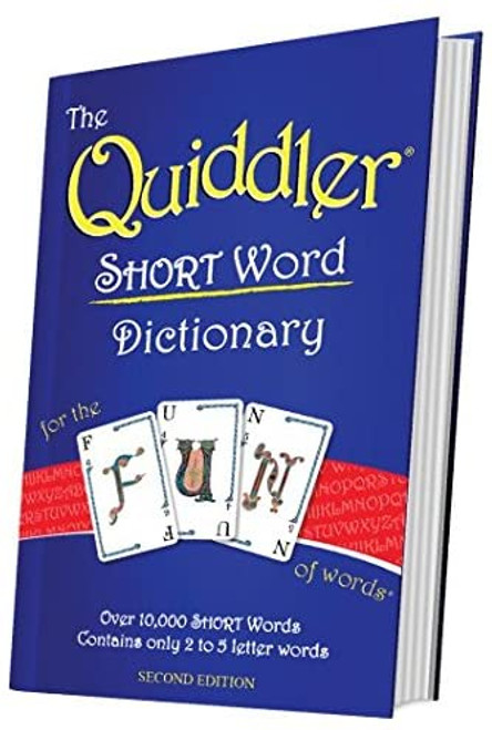 Quiddler Short Word Dictionary (Sold Out)