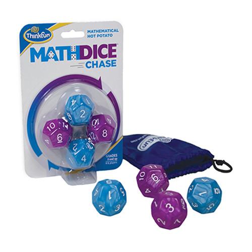 Math Dice Chase box