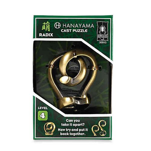 Hanayama Radix Puzzle (Level 4) box