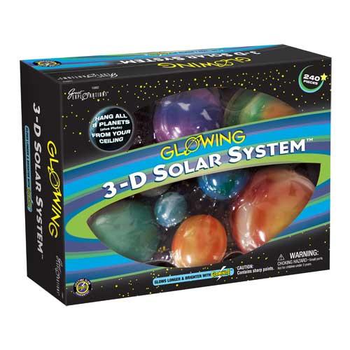 3-D Solar System