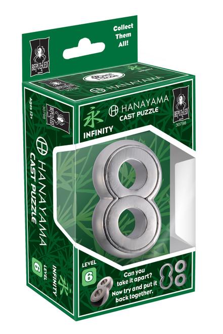 Hanayama Infinity (Level 6) box