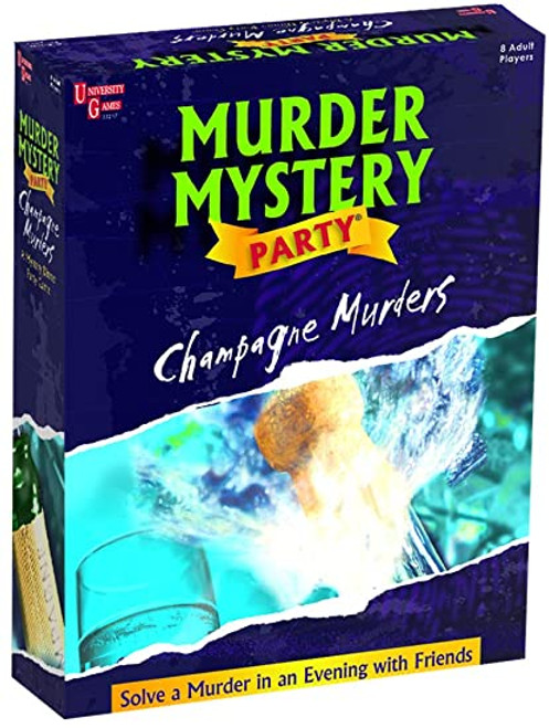 The Champagne Murders mystery party
