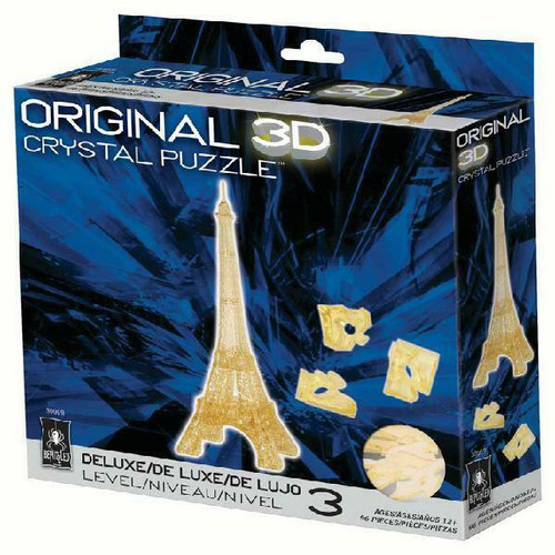 Eiffel Tower Crystal 3D Puzzle