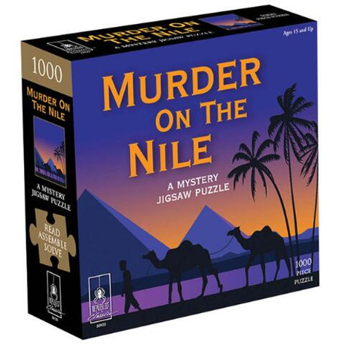 Murder on the Nile Mystery 1000pc