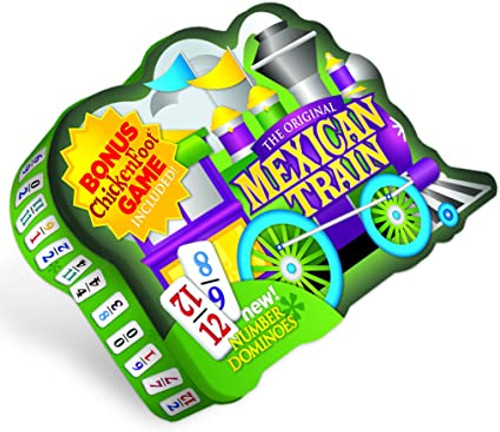 Mexican Train Deluxe Number Dominoes