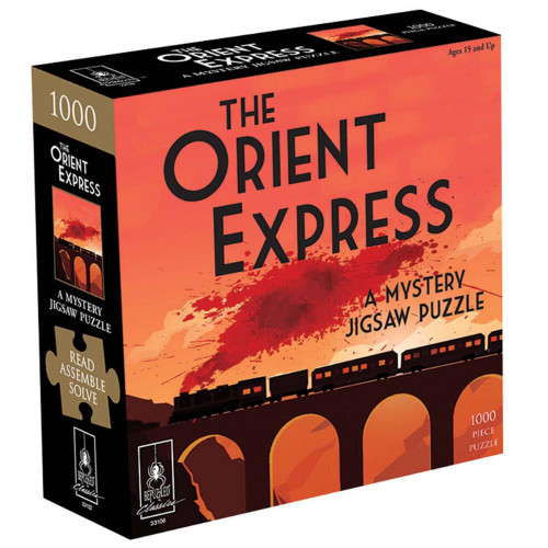 The Orient Express Mystery 1000pc