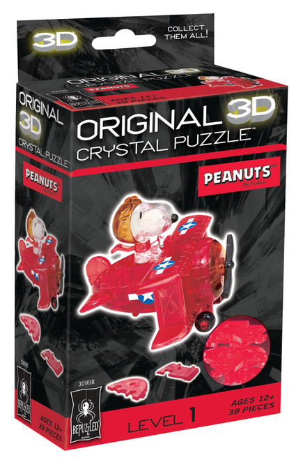 Snoopy Flying Ace Crystal 3D Puzzle
