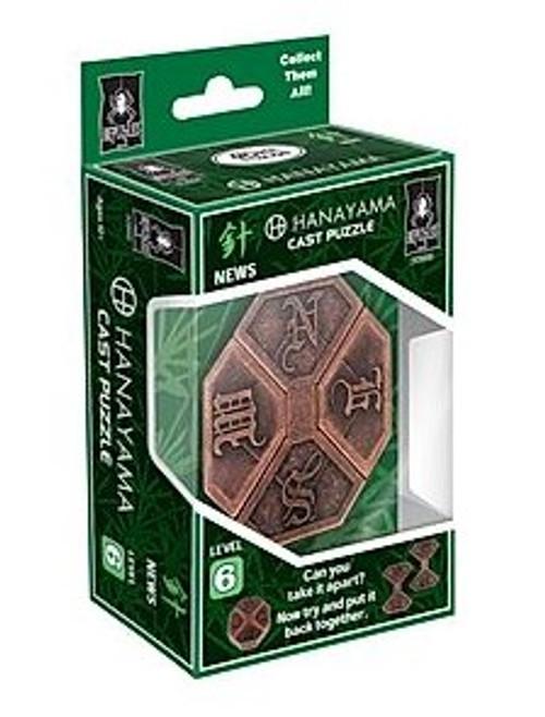 Hanayama News Puzzle (Level 6) box