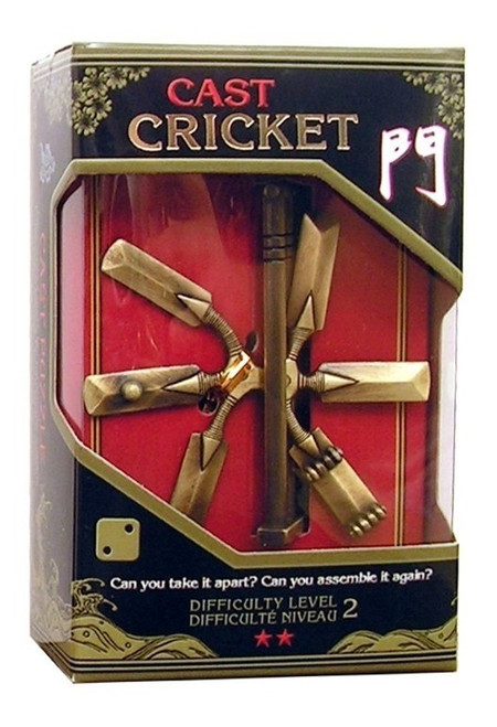 Hanayama Cricket (Level 2) box