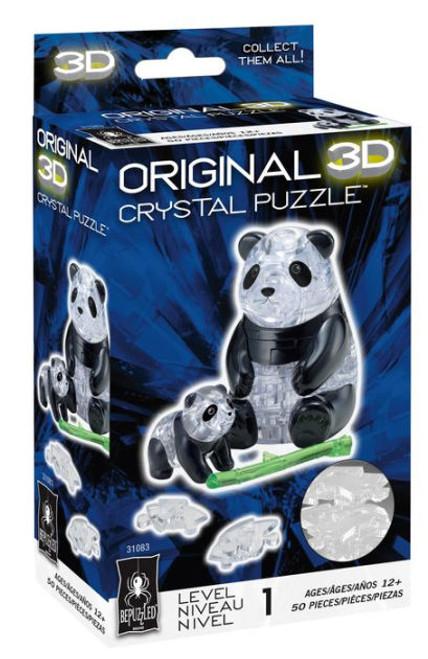 Panda Crystal 3D Puzzle