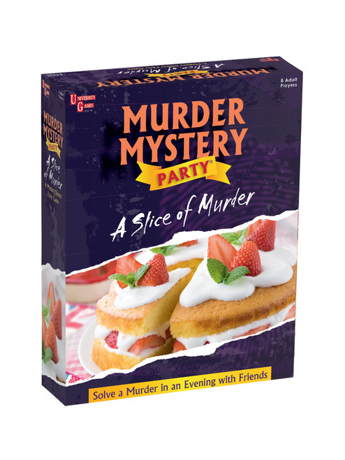 Slice of Murder mystery party