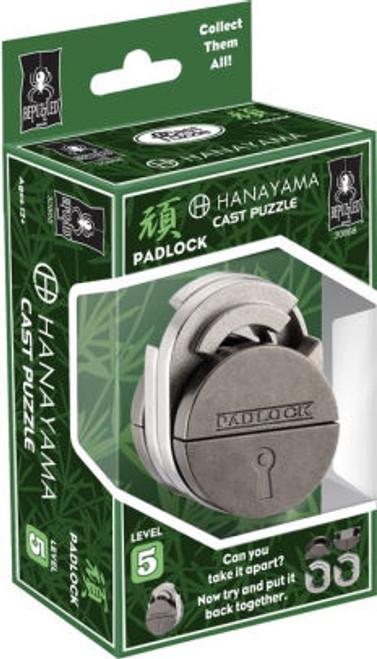 Hanayama Padlock (Level 5) box