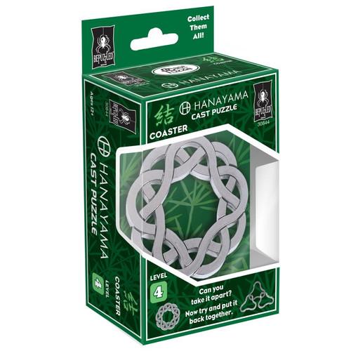 Hanayama Coaster Puzzle (Level 4) box