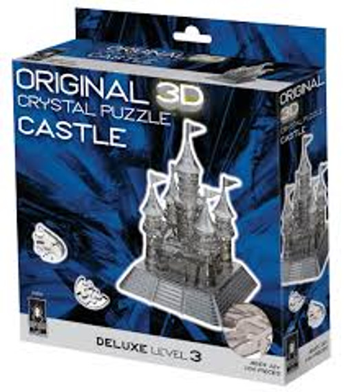 Black Castle Crystal 3D Puzzle Box