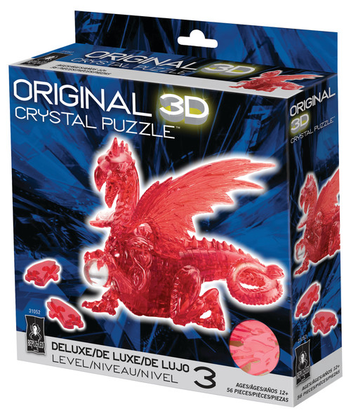 Dragon Red Crystal 3D Puzzle