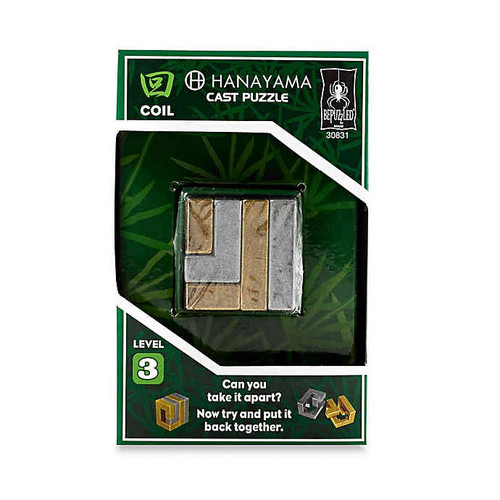 Hanayama Coil (Level 3) box