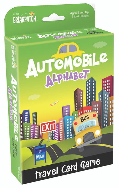 Automobile Alphabet Card Game
