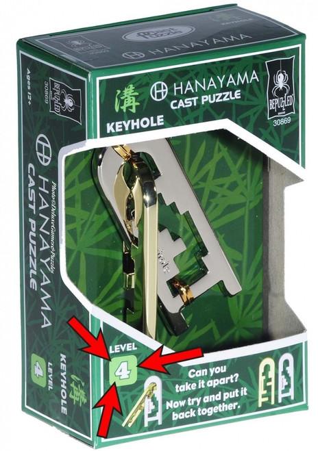 Hanayama Keyhole (Level 4) box