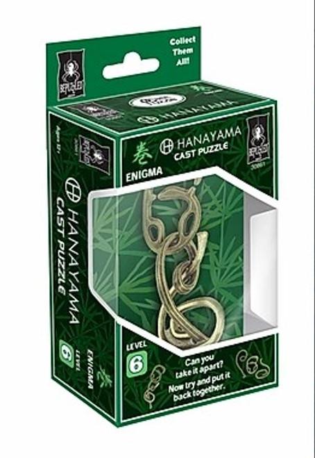 Hanayama Enigma Puzzle (Level 6) box