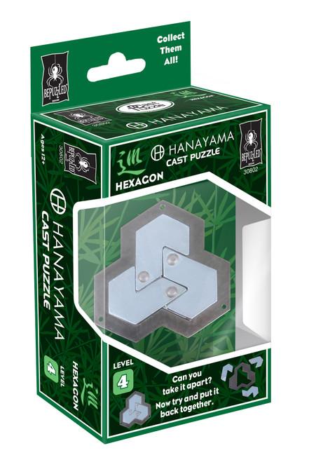 Hanayama Hexagon (Level 4) box