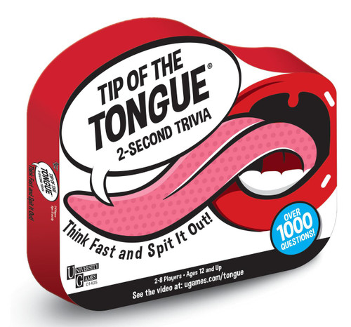 Tip of the Tongue Party Game