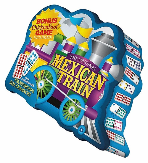 Mexican Train Deluxe Pip Dominoes