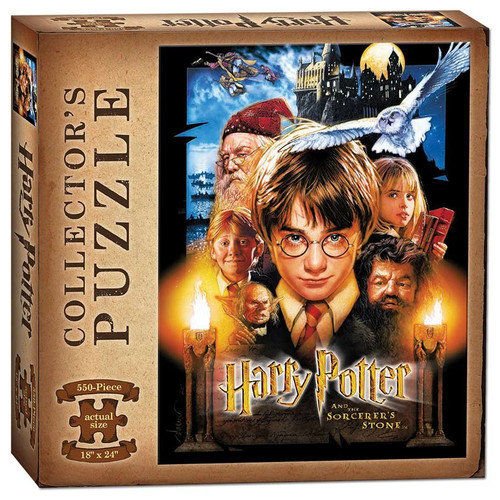 Harry Potter & Sorcerer's Stone 550pc box