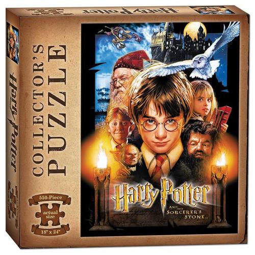Harry Potter & Sorcerer's Stone 550pc box