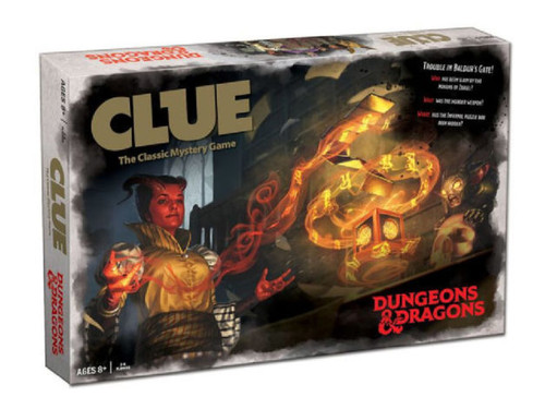 Dungeons & Dragons Clue box