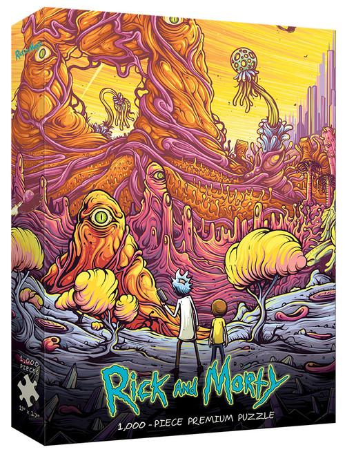 Rick and Morty Into the Rickverse 1000pc box