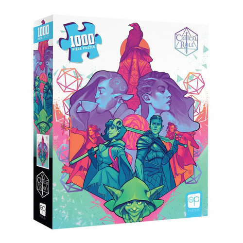 Critical Role Mighty Nein 1000pc (Sold Out)