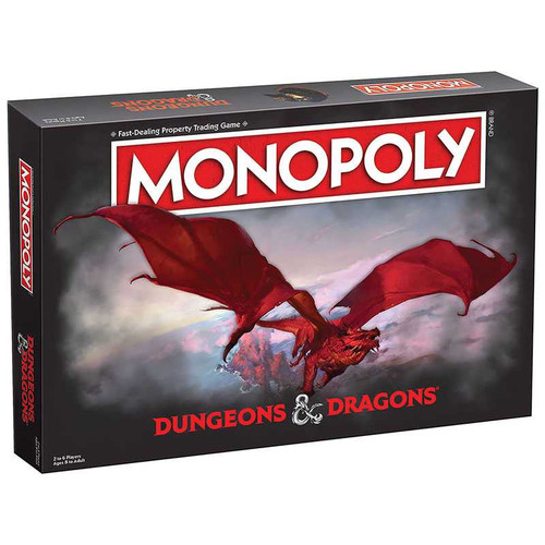 Dungeons & Dragons Monopoly