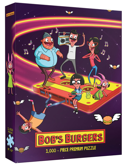 Bob's Burgers Belchers in Space 1000pc box