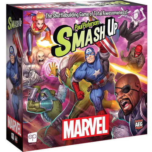 Smash Up Marvel