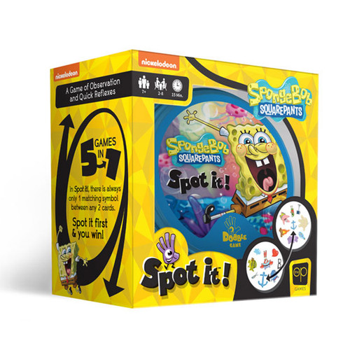 Spot It! SpongeBob SquarePants