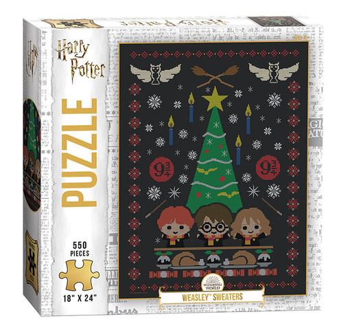 Harry Potter Weasley Sweaters 550pc box