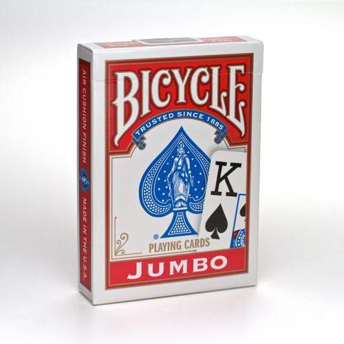 Image of Bicycle Jumbo Poker card packaging