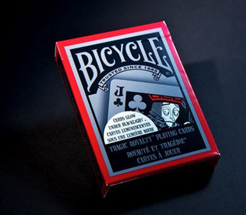 Image of Bicycle's Tragic Royalty playing card deck packaging