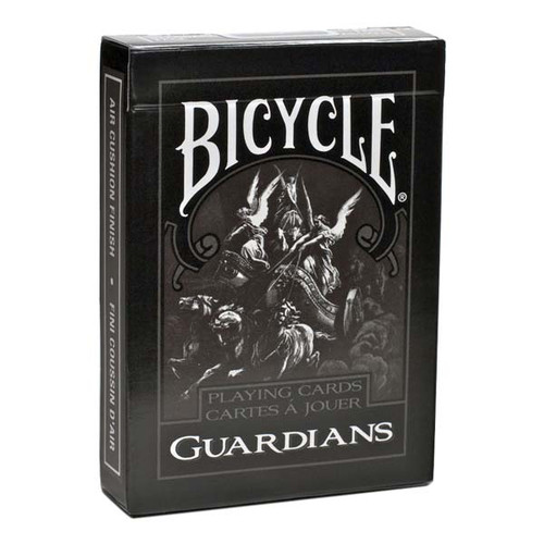 Image of the Bicycle Guardians deck packaging