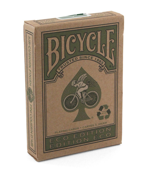 Image of Bicycle's eco deck packaging