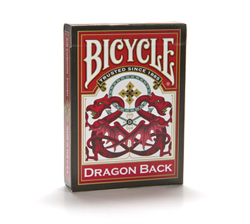Image of Bicycle's Dragon deck (Red) packaging