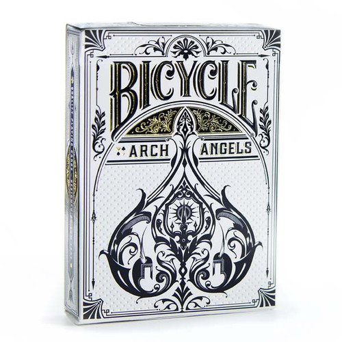 Image of Bicycle's Archangels deck packaging