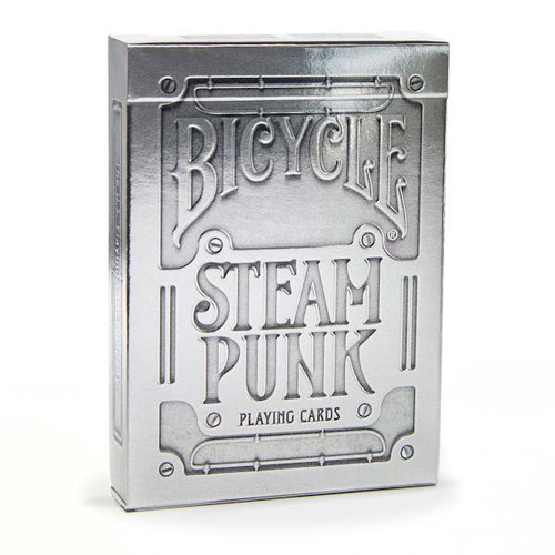 Image of Bicycle's Steam Punk deck packaging