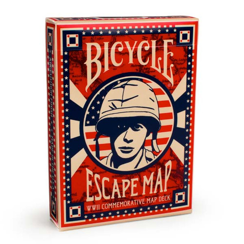 Image of Bicycle's Escape Map deck packaging